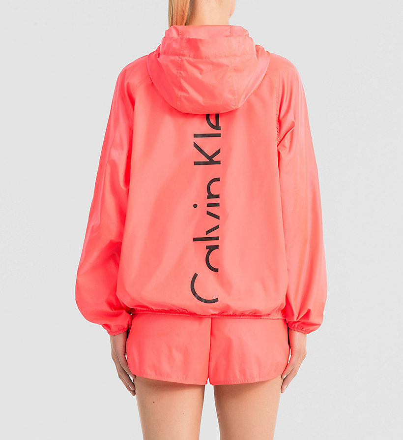 CALVINKLEIN Windbreaker - Core Placed Logo - DIVA PINK - CALVIN KLEIN JUMPERS - detail image 1