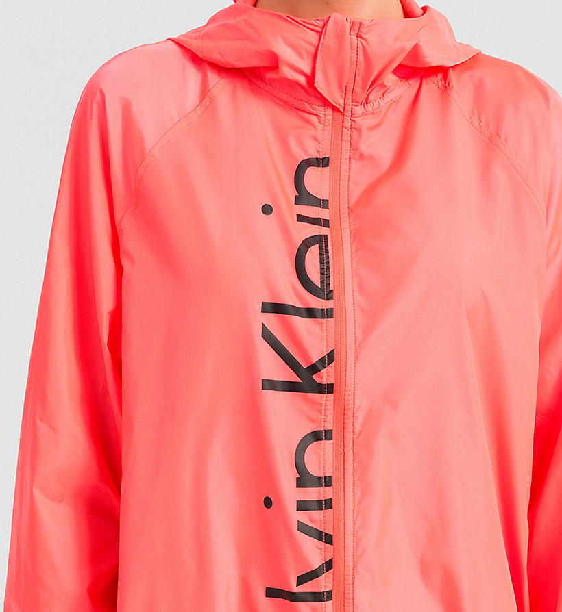 CALVINKLEIN Windbreaker - Core Placed Logo - DIVA PINK - CALVIN KLEIN JUMPERS - detail image 2