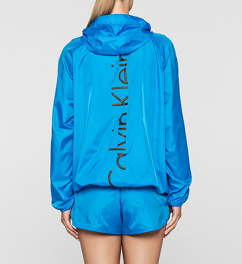 CALVINKLEIN Windbreaker - Core Placed Logo - BLUE JEWEL - CALVIN KLEIN JUMPERS - detail image 1