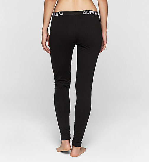 CALVINKLEIN Leggings - Intense Power - BLACK - CALVIN KLEIN TROUSERS - detail image 1