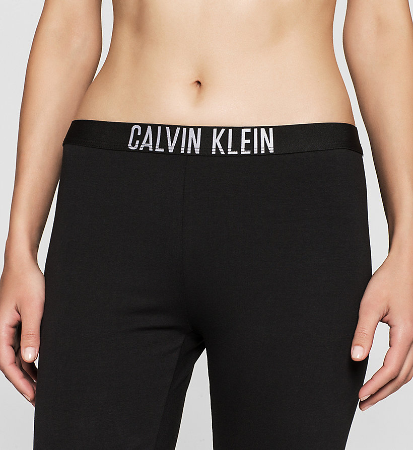 CALVINKLEIN Leggings - Intense Power - BLACK - CALVIN KLEIN TROUSERS - detail image 2