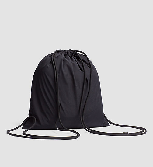 CALVINKLEIN Drawstring Bag - Intense Power - BLACK - CALVIN KLEIN SHOES & ACCESSORIES - detail image 1