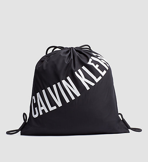 CALVINKLEIN Drawstring Bag - Intense Power - BLACK - CALVIN KLEIN BAGS - main image