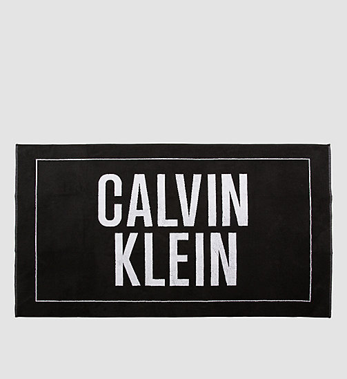 CALVINKLEIN Beach Towel - Intense Power - BLACK - CALVIN KLEIN SHOES & ACCESSORIES - main image