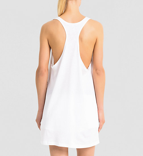 CALVINKLEIN Tank Top - Intense Power - WHITE - CALVIN KLEIN PYJAMA TOPS - detail image 1