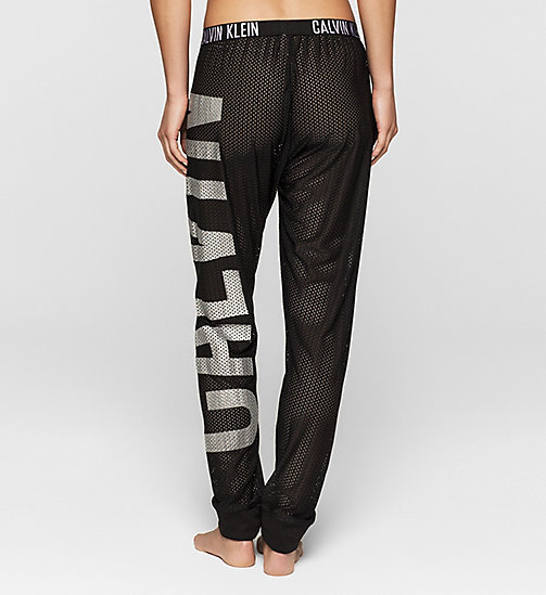 Mesh Beach Pants - Intense Power - BLACK - CALVIN KLEIN TROUSERS - detail image 1