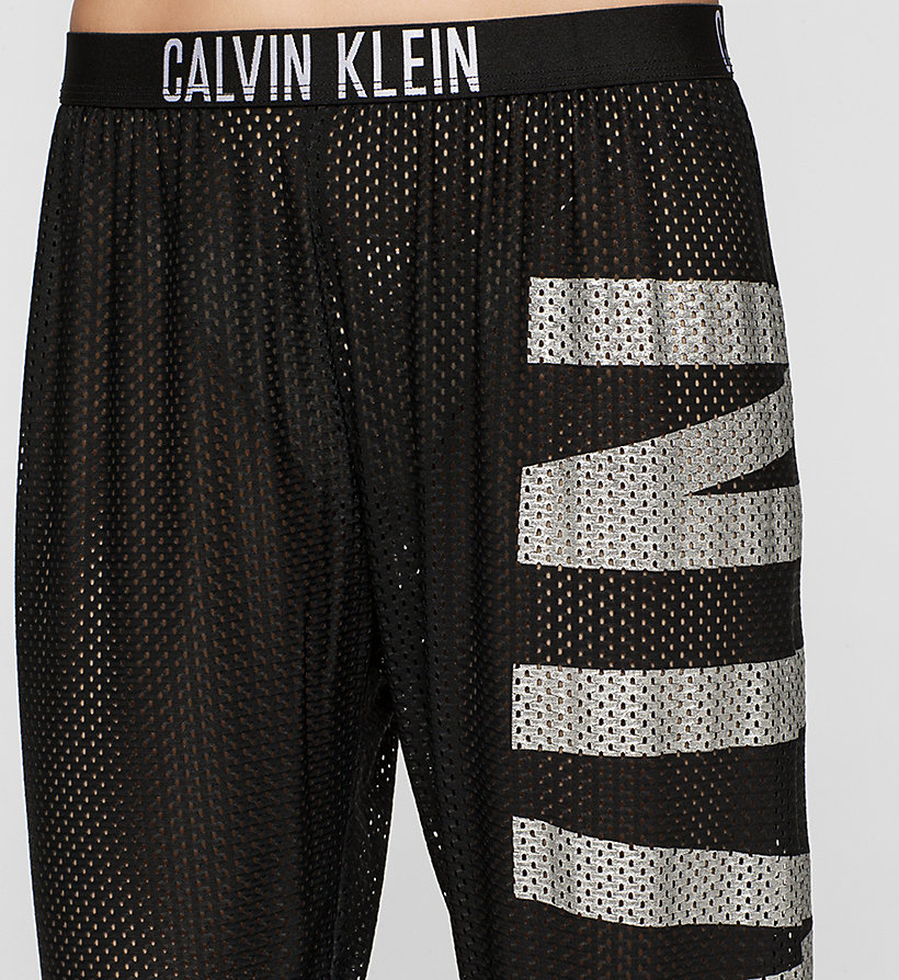 CALVINKLEIN Mesh Beach Pants - Intense Power - BLACK - CALVIN KLEIN TROUSERS - detail image 2