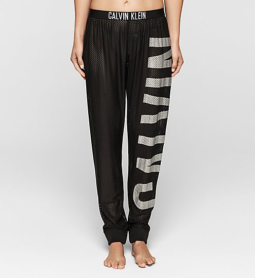 CKJEANS Mesh Beach Pants - Intense Power - BLACK - CALVIN KLEIN TROUSERS - main image