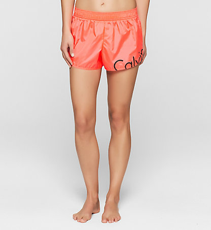 CALVIN KLEIN SWIMWEAR Strand-Shorts - Core Placed Logo KW0KW00128011