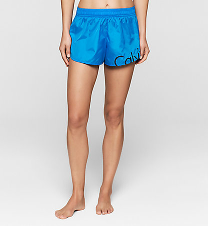 CALVIN KLEIN SWIMWEAR Strand-Shorts - Core Placed Logo KW0KW00128488