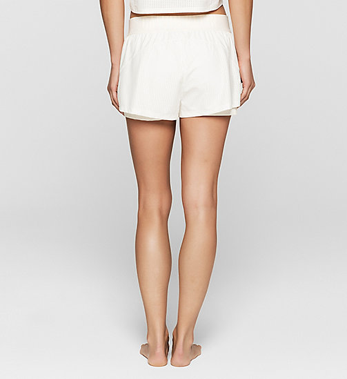 CALVINKLEIN Shorts - Cutting Edge Calvin - SNOW WHITE - CALVIN KLEIN SHORTS - main image 1