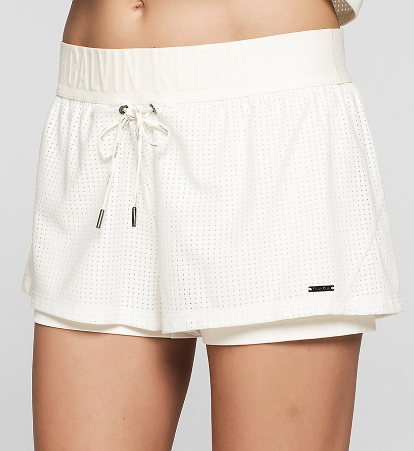 CALVINKLEIN Shorts - Cutting Edge Calvin - SNOW WHITE - CALVIN KLEIN SHORTS - detail image 2