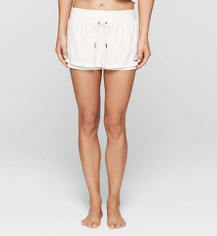 CALVINKLEIN Shorts - Cutting Edge Calvin - SNOW WHITE - CALVIN KLEIN SHORTS - main image
