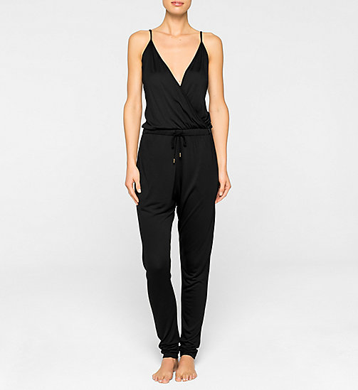 CALVINKLEIN Jumpsuit - BLACK - CALVIN KLEIN CLOTHING - main image