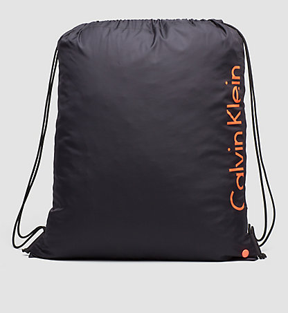 CALVIN KLEIN SWIMWEAR Drawstring Bag - Core Placed Logo KW0KW00152001