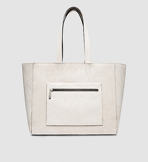 CKCOLLECTION Borsa tote con tasche - LIGHT BEIGE - CK COLLECTION BORSE - immagine principale