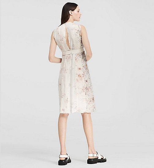 CALVINKLEIN Floral Print Silk Dress - MISCELLANEOUS GROUP - CK COLLECTION DRESSES - detail image 1