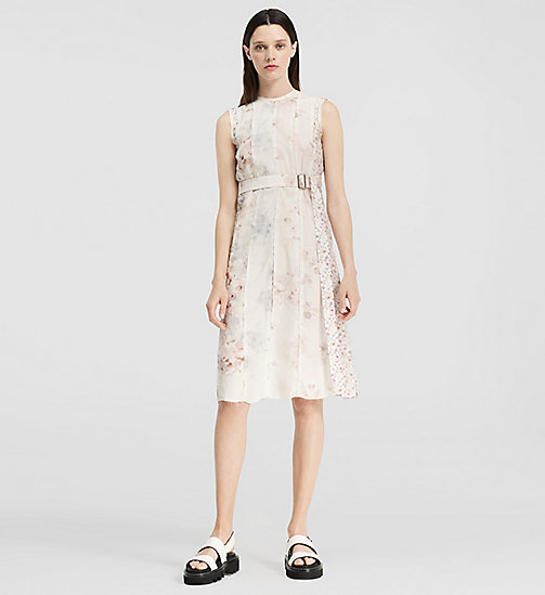 CALVINKLEIN Floral Print Silk Dress - MISCELLANEOUS GROUP - CK COLLECTION DRESSES - main image