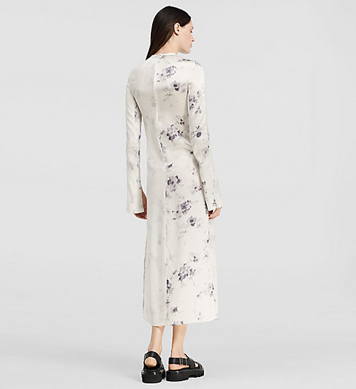 Floral Silk Split Sleeve Dress - MISCELLANEOUS GROUP - CK COLLECTION  - detail image 1