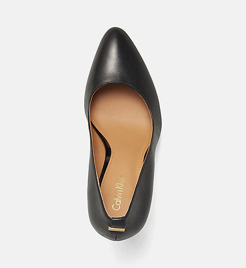 CALVINKLEIN Leather Pumps - BLACK - CALVIN KLEIN DELETE SHOES - detail image 1
