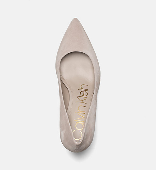 CALVINKLEIN Suede Pumps - CLAY - CALVIN KLEIN SHOES & ACCESORIES - detail image 1
