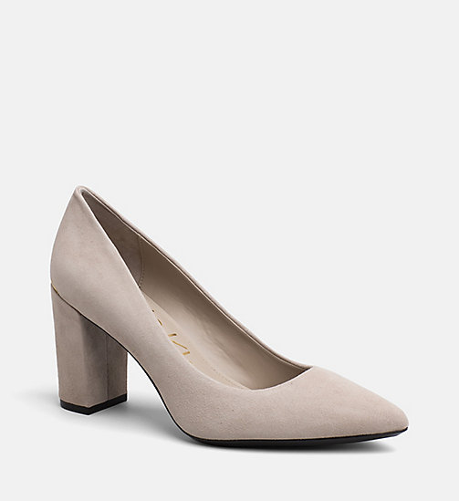 CALVINKLEIN Suede Pumps - CLAY - CALVIN KLEIN SHOES & ACCESORIES - main image