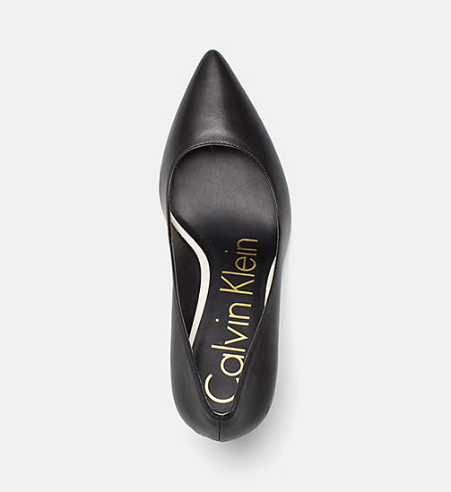 CALVINKLEIN Nappa Leather Pumps - BLACK - CALVIN KLEIN Pumps - detail image 1
