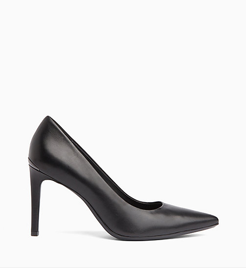 CALVINKLEIN Leather Pumps - BLACK - CALVIN KLEIN Pumps - main image