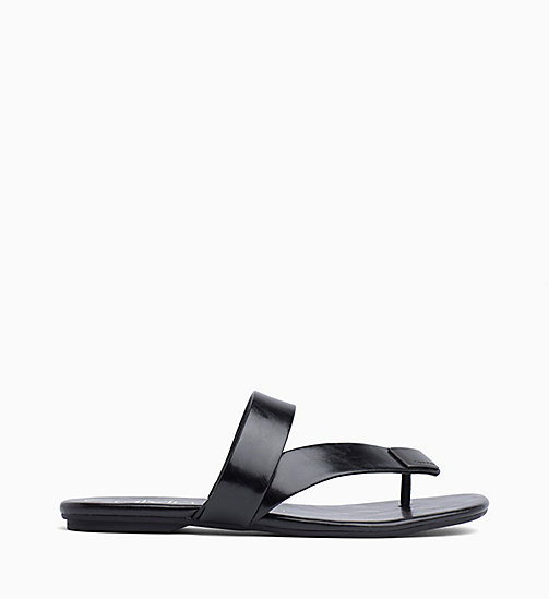 CALVIN KLEIN Sandals - BLACK - CALVIN KLEIN SANDALS - main image