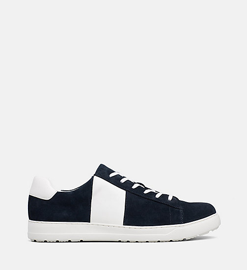 CALVINKLEIN Suede Trainers - DARK NAVY -  TRAINERS - main image