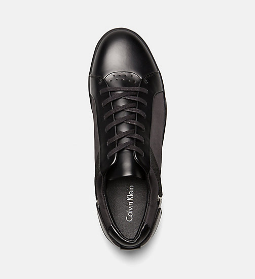 CALVINKLEIN Sneakers - BLACK - CALVIN KLEIN SHOES & ACCESSORIES - detail image 1