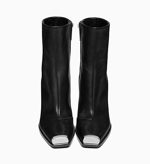 205W39NYC High-Heeled Boots in Calf Leather - BLACK - 205W39NYC SHOES & ACCESSORIES - detail image 1