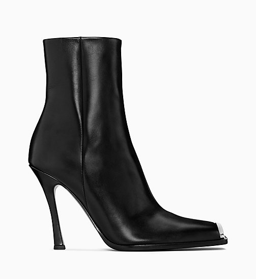 205W39NYC High-Heeled Boots in Calf Leather - BLACK - 205W39NYC SHOES & ACCESSORIES - main image