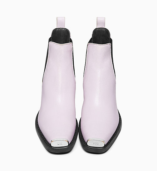 205W39NYC Western Chelsea Boots in Calf Leather - AMETHYST - 205W39NYC SHOES & ACCESSORIES - detail image 1