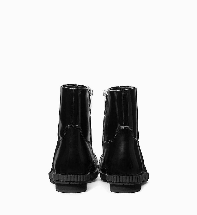 205W39NYC Fireman Ankle Boots in Calf Leather - WHITE - 205W39NYC WOMEN - detail image 2