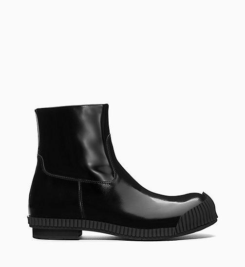 205W39NYC Fireman Ankle Boots in Calf Leather - BLACK - 205W39NYC SHOES & ACCESSORIES - main image