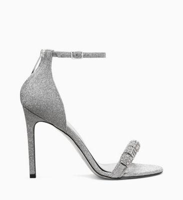e4922d31e44 High Heel Sandals in Diamond Dust Leather Calvin Klein®
