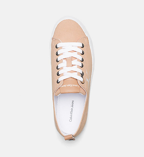 CALVIN KLEIN JEANS Canvas Sneakers - DUSK - CALVIN KLEIN JEANS TRAINERS - detail image 1