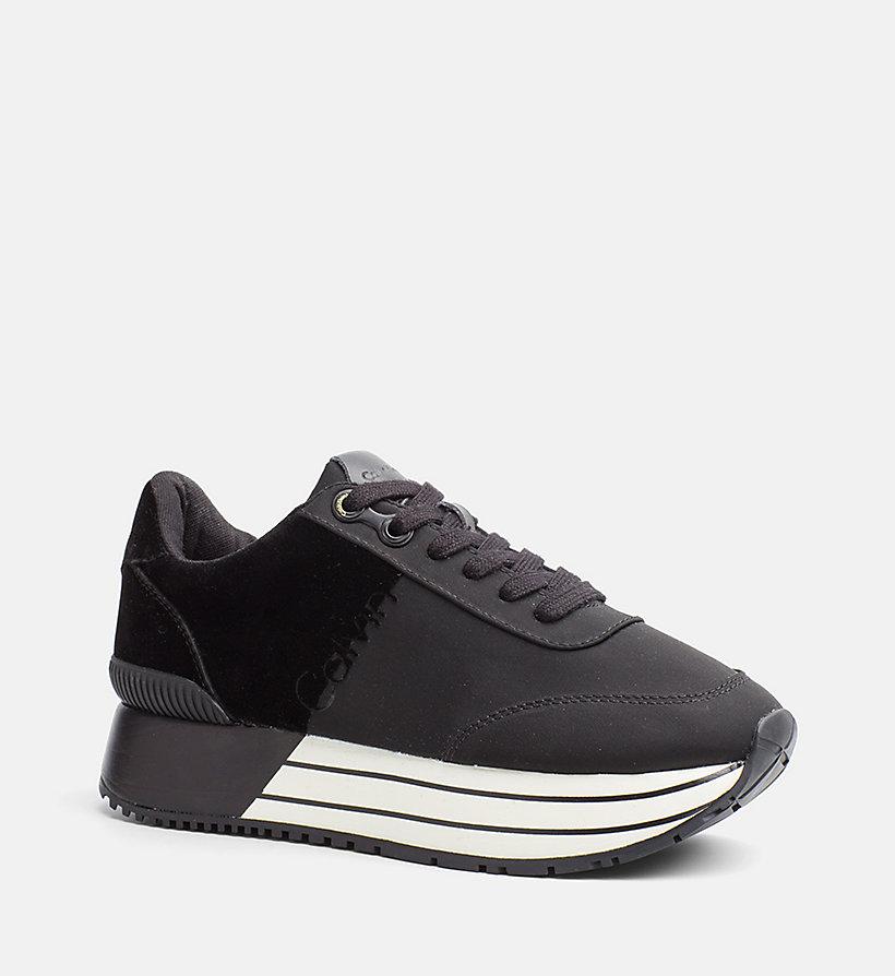 Chaussures De Sport En Nylon Calvin Klein Q3xM3v