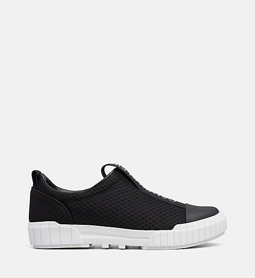 CALVIN KLEIN JEANS Mesh Slip-On Shoes - BLACK - CALVIN KLEIN JEANS FALL DREAMS - main image