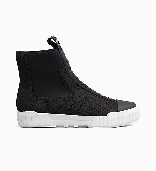 CALVIN KLEIN JEANS Mesh Ankle Boots - BLACK - CALVIN KLEIN JEANS IN THE THICK OF IT FOR HER - main image