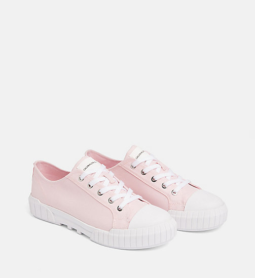 CALVIN KLEIN JEANS Nylon Sneakers - CHINTZ ROSE - CALVIN KLEIN JEANS TRAINERS - detail image 1