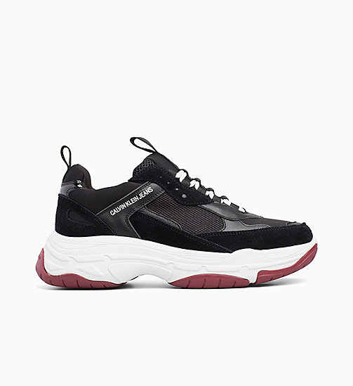 CALVIN KLEIN JEANS Chunky Sneakers aus Leder - BLACK - CALVIN KLEIN JEANS The New Off-Duty - main image