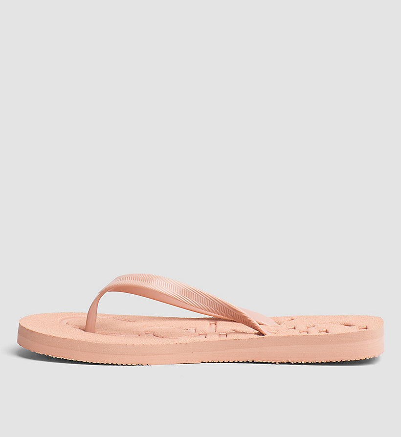 CKJEANS Jelly Slippers - PINK/WHITE/SILVER - CK JEANS WOMEN - detail image 2
