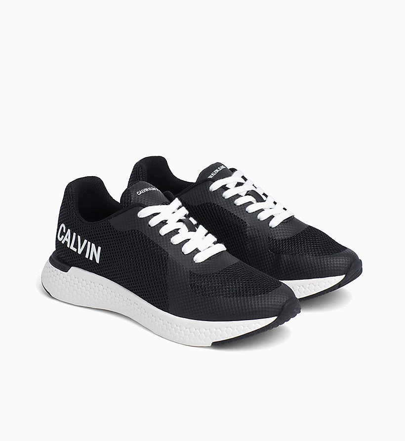 CALVIN KLEIN JEANS Mesh Trainers - BRIGHT WHITE - CALVIN KLEIN JEANS WOMEN - detail image 1