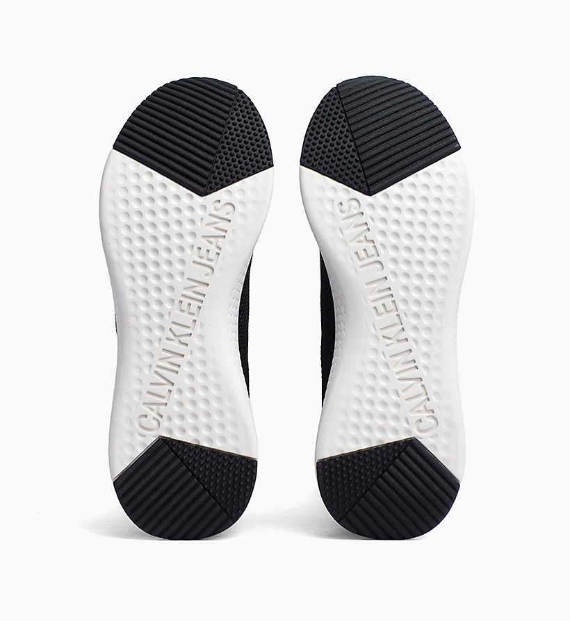 CALVIN KLEIN JEANS Mesh Trainers - BRIGHT WHITE - CALVIN KLEIN JEANS WOMEN - detail image 4