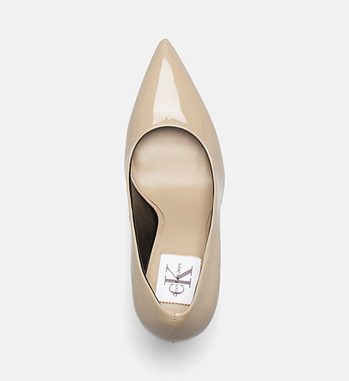 CALVIN KLEIN JEANS Patent Leather Pumps - SAND - CALVIN KLEIN JEANS Pumps - detail image 1