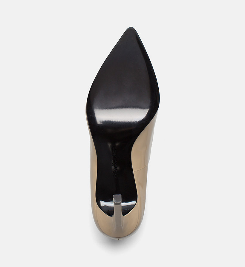 CALVIN KLEIN JEANS Patent Leather Pumps - FIRE - CALVIN KLEIN JEANS WOMEN - detail image 4