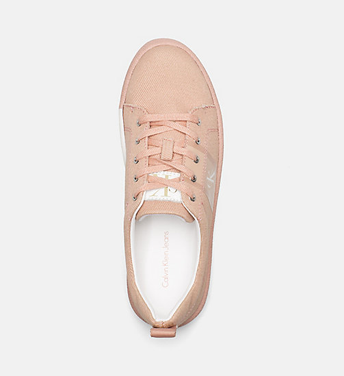 CALVIN KLEIN JEANS Twill Sneakers - DUSK - CALVIN KLEIN JEANS HEAT WAVE - detail image 1