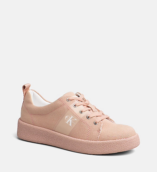 CALVIN KLEIN JEANS Twill Sneakers - DUSK - CALVIN KLEIN JEANS HEAT WAVE - main image